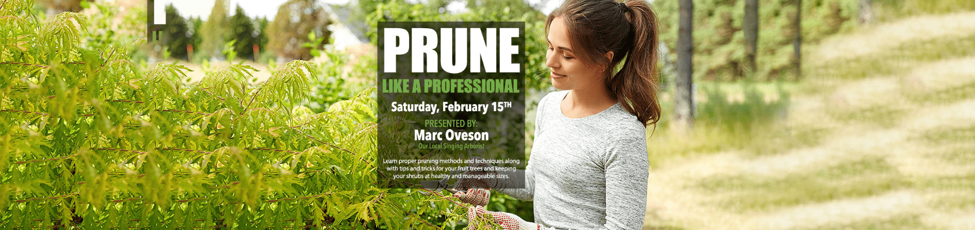 Prune like a Professional at Tri City